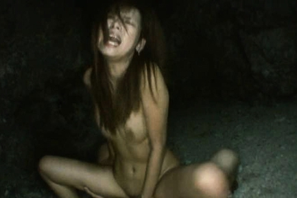 Outdoor Akina Lovely Enjoys Asian Doll