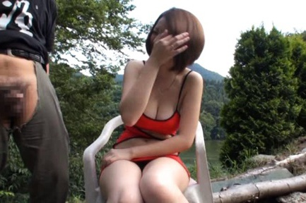 Big Tit MILF Momoka Nishina Takes Her Hard Fucking Outside