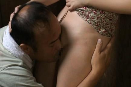 Appetising Japanese AV Model has steaming milf sex with random guy