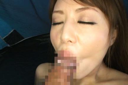 Akiho Yoshizawa playing naughty in hardcore action