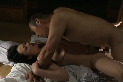 Busty Japanese AV Model is a hot mature screwed by hubby