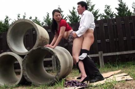 Busty Japanese mature Emiko Ejima dominates a horny guy