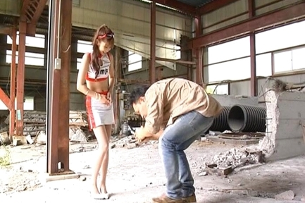 Nana Otone Awesomely sexy Asian model outdoors