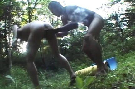 Busty amateur enjoys cock in perfect outdoor hardcore